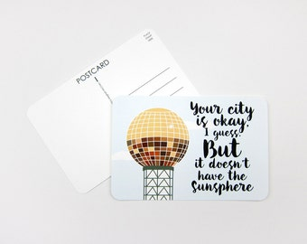 Sunsphere: Set of 10 or More Postcards
