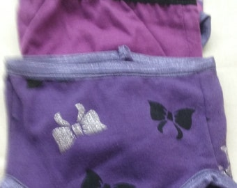 3 pair purple undies for 18 inh doll