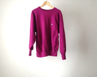 CHAMPION brand nike style 90s PINK sportswear sweatshirt