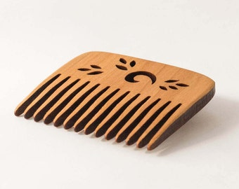 Hair Comb - Natural Comb - Wooden Hair Comb - Hair Accessory - Portable Comb - Wood Hair Comb