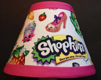 Shopkins Fabric Children's Night Light