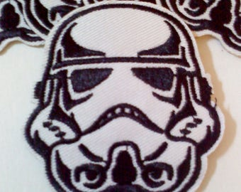 Stormtrooper Iron on Sew on Patch Applique