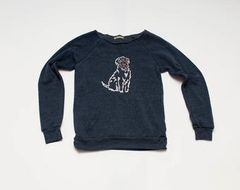 SALE Sweatshirt, Goldendoodle, Wheaten, Size S,M,L,XL