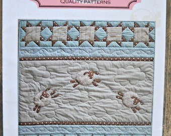 I Wub Ewe quilt pattern by The Quilted Fish