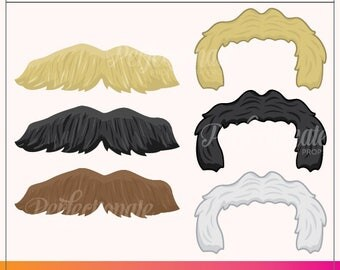 Printable 80s Mustaches Prop | Printable 80s Props | Instant Download | 80s Photo-Booth