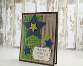 Happy Fathers Day Card - Fathers Day From Wife - Best Holiday Card - Husband Card Messages - Star For Dad - Fathers Day From Daughter
