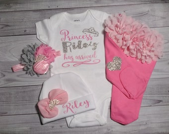 baby girl coming home outfit, newborn baby girl, take home outfit, name, sparkling new, baby girl outfit, baby girl clothes newborn outfit