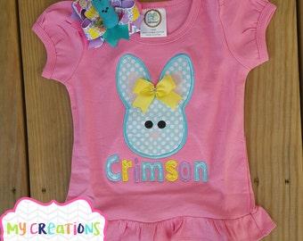 Girly Easter Bunny Shirt