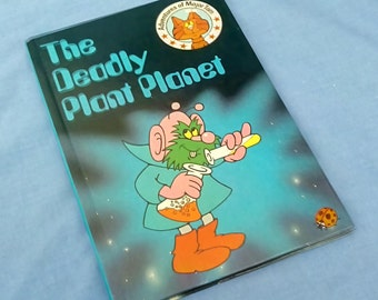 Vintage Ladybird Book The Deadly Plant Planet - Adventures of Major Tom - 1st  Edition 1984 - Glossy Covers