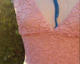 Golden Pink Bralette