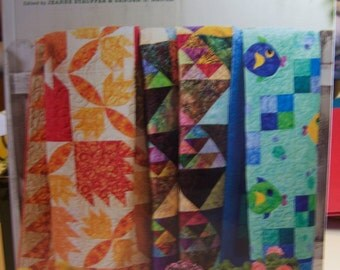 "Quilt Book ""Lots of Scraps It's Time to Quilt"" Soft Cover 176 Pgs."