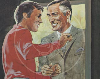 Call Boy - 10 x 16 Giclée Canvas Print of a Vintage Gay Pulp Paperback Cover