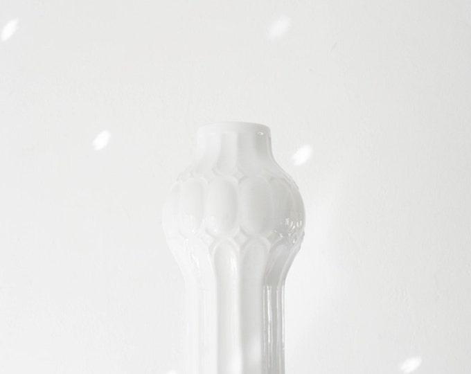 Royal KPM Mid Century Glazed White Porcelain Vase // Modern Scandinavian White Home Decor // Modernist Christmas