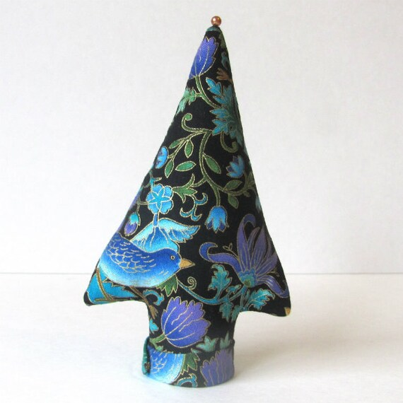 itty bitty Tree of Life Fabric Place Card Holder TREE-Stand Ready to Ship