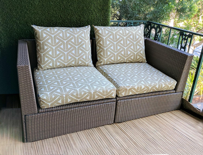 Ikea Geometric Outdoor Slip Cover Ikea Cushion Covers Custom