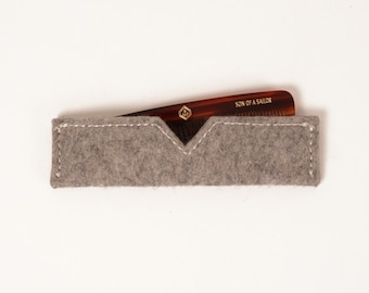 Comb with Wool Felt Case | UNIFORM