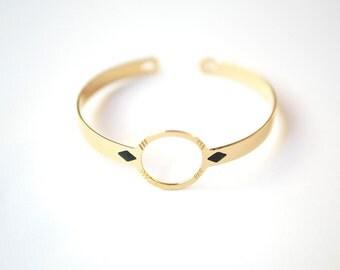 Bracelet Romy brass gold filled 24k