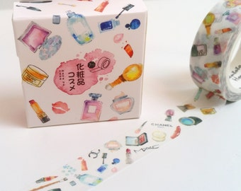 Pretty Beauty and Makeup Washi Tape