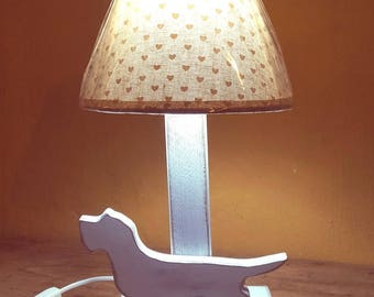 Wirehaired Dachshund Table Lamp