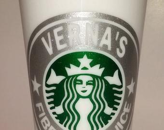 Starbucks Cup, Personalized Starbucks Coffee Cup,  Starbucks Coffee Tumbler, Starbucks Tumbler