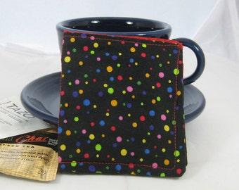 Rainbow Polka Dot Tea Wallets Set