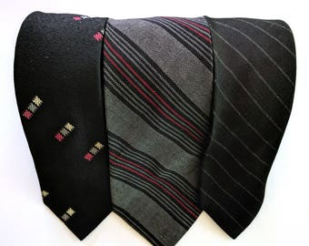 Vintage Necktie Wembley Superbra Collection Set Ties --FREE SHIPPING--