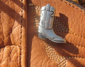 Cowboy Boot Lapel Pin - CC220