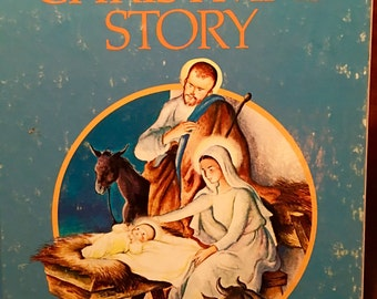 The Christmas Story, Little Golden Book, Illustrated by Eloise Wilkin