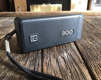 ON SALE - Vintage Kodak Camera - Kodak Tele Ektra 300 Camera - Kodak Ektra Camera Attached Folding Case - Kodak Film Camera Point And Shoot