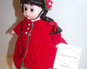 Sending Christmas Cheer Madame Alexander 8 in doll