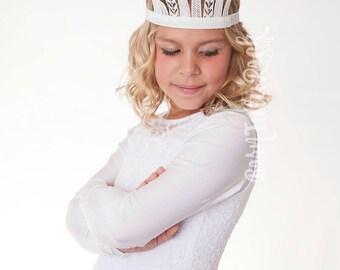 Snow Queen Crown // The White Queen // by Born TuTu Rock