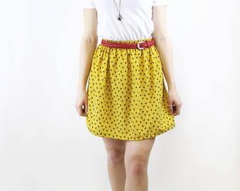 skirt flamingo yellow