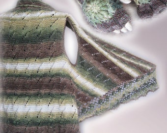 Hand Knitted Poncho Shawl,Women Ponchos, Boho poncho, Boho Womens Clothing, Ponchos Women, vest shawl, multicolored Poncho, glove