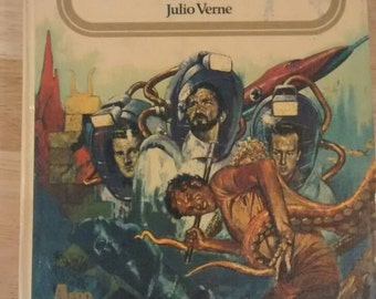 FREE SHIPPING! Veinte Mil Leguas De Viaje Submarino by Julio Verne (20,000 Leagues Under the Sea by Jules Verne in Spanish)