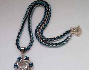 Swirls Pendant Necklace