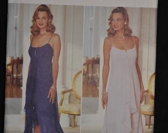 Beautiful Evening Gown - Sizes: 6,8,10,12 - UNCUT - By AJ Bari - Butterick 3944