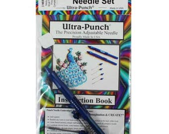 Ultra Punch Needle Set - The Precision Adjustable Needle - Punch Needle Embroidery