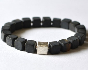 Amber Bracelet, Beaded Bracelet, Black Amber Bracelet, amber jewelry, baltic amber