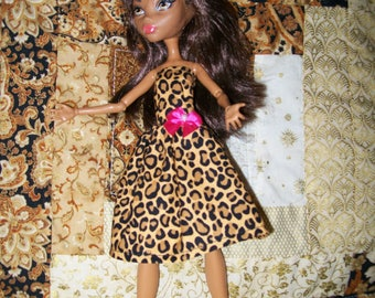 Handcrafted Dress made to fit the original Monster High Dolls   (item D34)