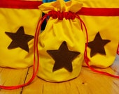 Double stringed Dice bag Bell Bag