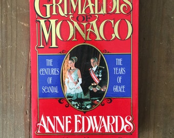 The Grimaldis of Monaco by Anne Edwards Book on Tape