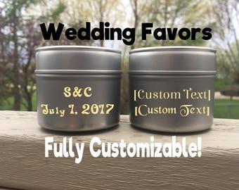 Wedding Favor Party Favor Custom Favors Personalized Favors Personalized Gifts Wedding Party Favor Custom Wedding Gift Wedding Treat Tin
