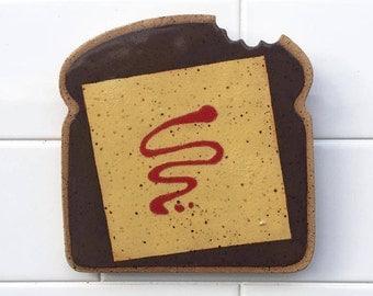 Kraft Singles, American Cheese, Velveeta, Ceramic Trivet, Trivet, Ceramic Tile, Food Wall Art, Spoon Rest, Kitchen Wall Art, Utensil Rest