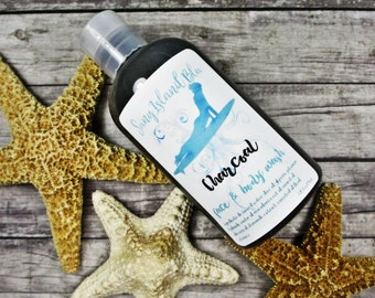 Activated Charcoal Body Wash - Activated Charcoal Cleanser - Charcoal Face Wash - Tea Tree Body Wash - Charcoal Shower Gel - Charcoal Soap