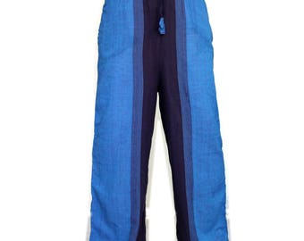 Light Yoga pants - Extra Long - Plain summer men's trouser - M L size