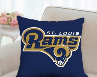 Items Similar To St Louis Rams Wreath On Etsy