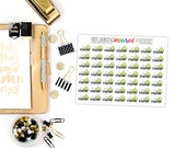 Payday Stickers, Payday Planner Stickers, set of 49 Planner Stickers