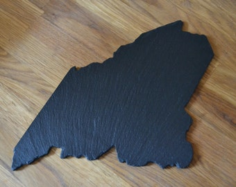 Maine Slate State Cheese Board