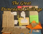 Disneyland Hunt Adventure - The Great Disneyland Challenge