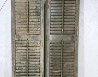 Exterior Wrought Iron Window Skiview Shutters By Arusticgarden